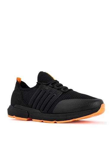 Slazenger Slazenger TEPPE Sneaker Erkek Ayakkabı  Siyah
